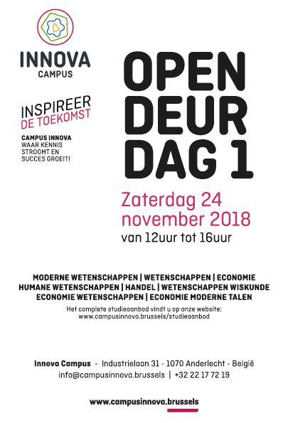 Opendeurdag Campus Innova